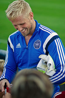 Kasper Schmeichel Danish association football player