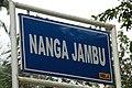 2014 Borneo Luyten-De-Hauwere-Nanga-Jambu-Sign.jpg