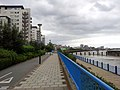 2015 London, Woolwich-Thamesmead West, Thames Path-Royal Artillery Quays 01.jpg