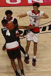 0d7d90271 Ball making a pass at the 2016 McDonald s All-American game
