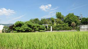 Heguri, Nara - Image: 20160804 Tomb of Prince Nagaya