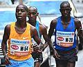 2017-04-23 GuentherZ Wien Marathonlauf M54 Eliud Magut+M20 Geoffrey Kusuro 1143.jpg