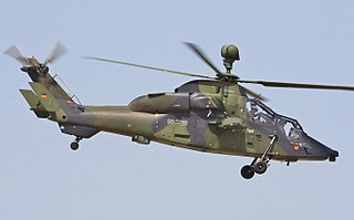 Eurocopter Tiger attack helicopter family by Eurocopter, later Airbus Helicopters