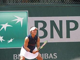 Kristie Ahn - Image: 2017 Roland Garros Qualifying Tournament 44