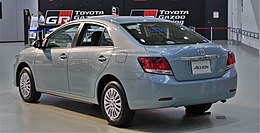 2017 Toyota Allion rear.jpg