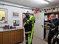 2018-01-13 (114) Self-contained breathing apparatus wearers in the performance test (Finnentest) in the fire station of the volunteer fire department in Weissenburg in Frankenfels.jpg