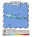 2018-10-11 Cungapmimbo, Indonesia M6 earthquake shakemap (USGS).jpg
