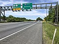 2019-05-21 11 28 32 View north at the south end of Interstate 97 (Patuxent Freeway) at its junction with Interstate 595, U.S. Route 50 and U.S. Route 301 (John Hanson Highway) in Greenwood Acres, Anne Arundel County, Maryland.jpg