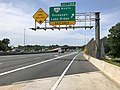 2019-05-29 11 42 58 View south along Interstate 95 at Exit 160 (Virginia State Route 123 NORTH, Occoquan, Lake Ridge) in Woodbridge, Prince William County, Virginia.jpg