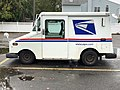 2020-10-28 11 10 52 Left side of a USPS Grumman LLV in Edison Township, Middlesex County, New Jersey.jpg
