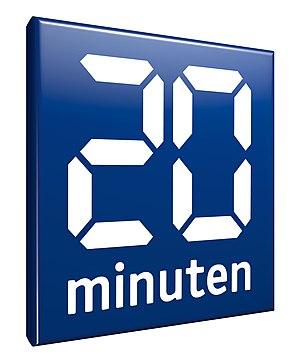 20 Minuten - Image: 20Minuten Logo ab mai 2013