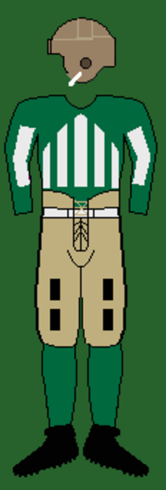1925 Dartmouth Indians football team - Image: 20sdartmouthuniform