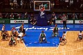 211000 - Wheelchair basketball Australia vs Japan from above 3 - 3b - 2000 Sydney match photo.jpg