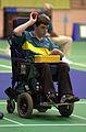 221000 - Boccia Warren Brearley action - 3b - Sydney 2000 match photo.jpg