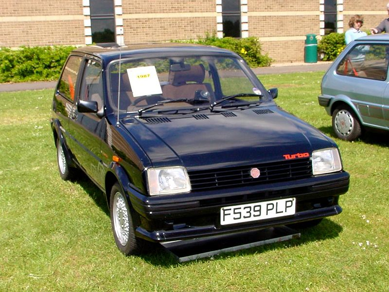 File:225 - January 1989 black MG Metro Turbo.jpg - Wikimedia Commons: commons.wikimedia.org/wiki/file:225_-_january_1989_black_mg_metro...