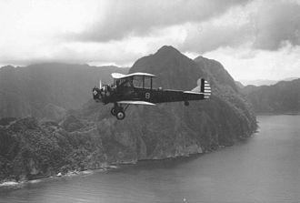 Keystone B-4 - Keystone B-4A in flight in the Philippines