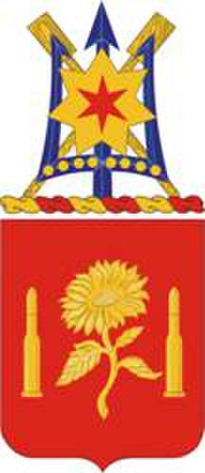 29th Field Artillery Regiment - Coat of arms