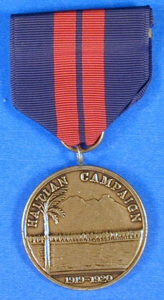 Haitian Campaign Medal - Image: 2nd Haiti Med