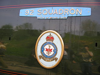 SR West Country and Battle of Britain classes - Nameplate configuration 2: Battle of Britain (34081 92 Squadron)
