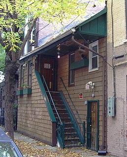 Weehawken Street Street in Manhattan, New York