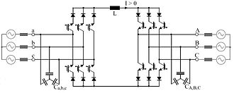 AC-to-AC converter - Fig 3: Topology of current-source inverter AC/DC-AC converter