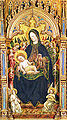 3 Benedetto Bembo. Detail of the polyptych Madonna and Saints. Castello Sforzesco, Milan.jpg