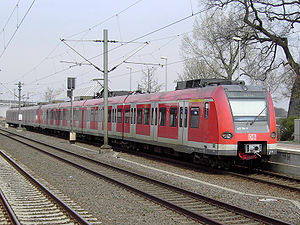 DBAG Class 423 - Two coupled Class 423 units