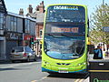 437 bus on Grange Road, West Kirby.JPG