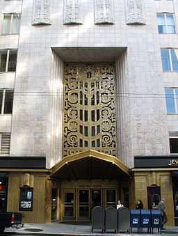 enjoy a private docent led tour of the famous art deco buildings in