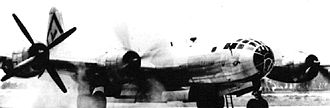 501st Combat Support Wing - 501st Bombardment Group B-29 engine startup Northwest Field Guam 1945
