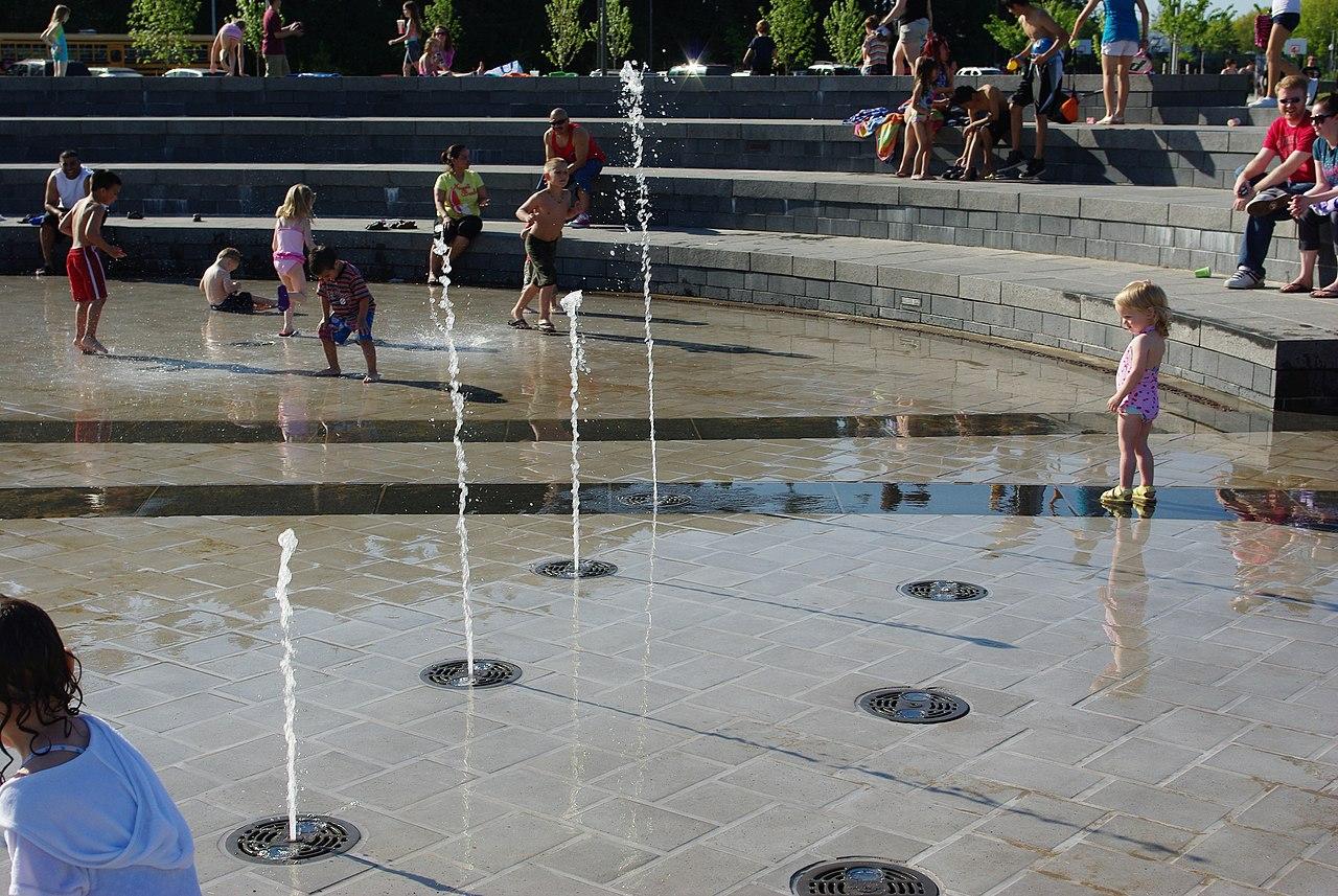 File 53rd Avenue Park Water Fountain Play 5 Hillsboro