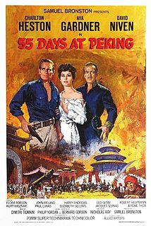 <i>55 Days at Peking</i> 1963 historical epic film directed by Nicholas Ray