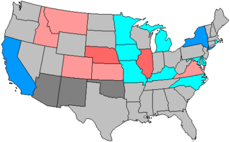 United States House of Representatives elections, 1902 - Image: 58 us house changes