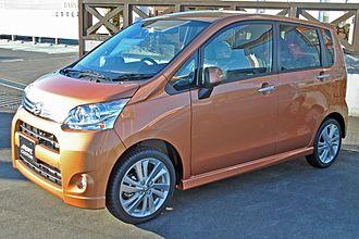 Daihatsu Move - Image: 5th Daihatsu Move Custom