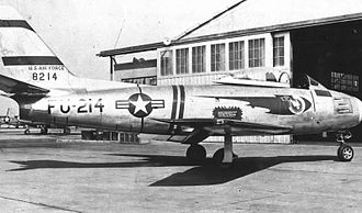 71st Fighter Training Squadron - North American F-86A Sabre, at Griffiss AFB, New York, 1950