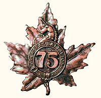 75th Battalion (Mississauga)