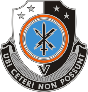 780th Military Intelligence Brigade (United States) - Image: 781 MI Bn DUI