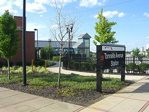 Northern Branch Corridor Project - The current terminus is a park-and-ride on Tonnelle Avenue
