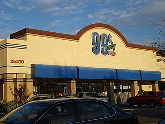 99 Cents Only Stores - 99 Cents Only store, Murrieta, California
