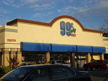 99 Cents Only Store Murrieta California