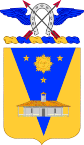9th Cavalry Regiment (United States) - 9th Cavalry Regiment coat of arms