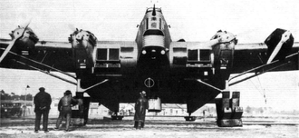 Société Aérienne Bordelaise - The SAB AB-20 bomber project built in 1932.