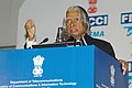 A.P.J. Abdul Kalam, addressing at the inauguration of the 'India Telecom 2006', an international Conference & Exhibition organised by Department of Telecommunications.jpg