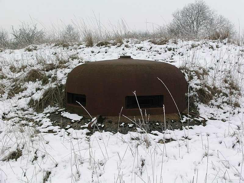 VDP cloche, bloc 4, Ouvrage Rochonvillers, Maginot Line, France.