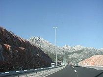 A1 highway near the Skradin in 2004 year.jpg