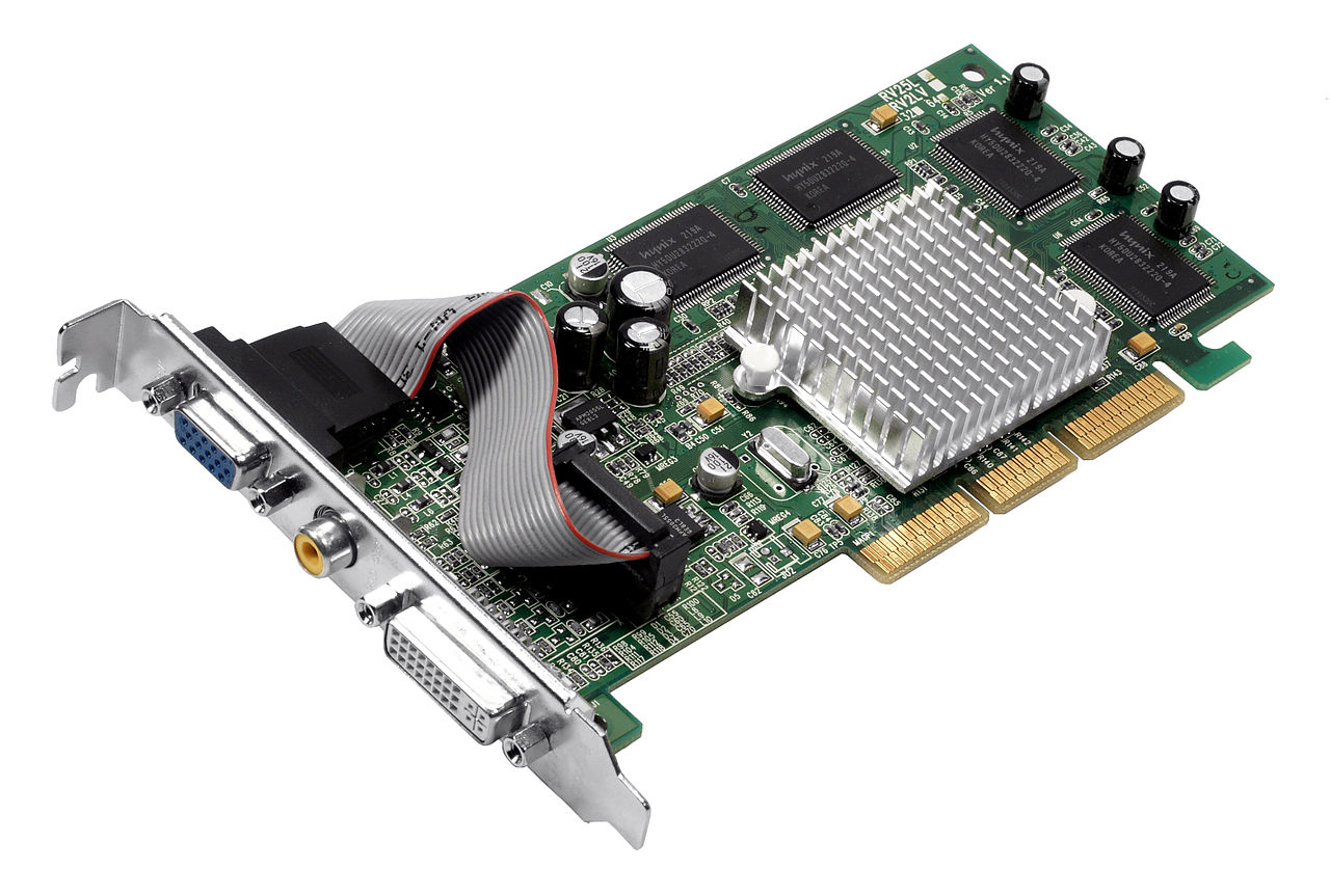 File Agp Video Card Jpg Wikimedia Commons