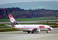 AMC Aviation Boeing 737-200; SU-AYK@ZRH;08.04.1995 (6470877571).jpg
