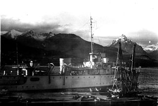 Argentine Navy patrol ship, in service since 1946.