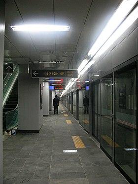 首爾站月台