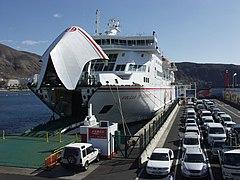 armas ferry gran canaria